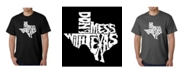 LA Pop Art Mens Word Art T-Shirt - Dont Mess with Texas