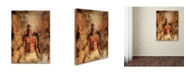"Trademark Global Joarez 'Totally Surrender' Canvas Art - 14"" x 19"""
