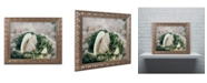 """Trademark Global PIPA Fine Art 'Seaweed and Shells' Ornate Framed Art - 11"""" x 14"""""""