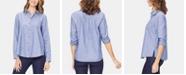 NYDJ Cotton Chambray A-Line City Shirt