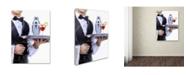 "Trademark Global The Macneil Studio 'Cocktail Waiter' Canvas Art - 14"" x 19"""