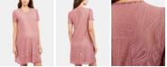 BCBGMAXAZRIA Maternity Textured A-Line Dress