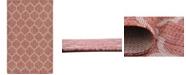 Bridgeport Home Pashio Pas5 Rust Red 5' x 8' Area Rug
