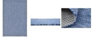 Bridgeport Home Pashio Pas6 Navy Blue 6' x 9' Area Rug