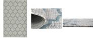 Bridgeport Home Pashio Pas5 Blue 5' x 8' Area Rug