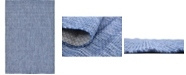 Bridgeport Home Pashio Pas6 Navy Blue 4' x 6' Area Rug