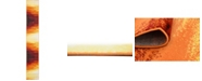 Bridgeport Home Politan Pol1 Orange 2' x 13' Runner Area Rug