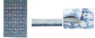 Bridgeport Home Masha Mas1 Navy Blue 5' x 8' Area Rug