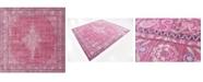 Bridgeport Home Malin Mal2 Pink 8' x 8' Square Area Rug