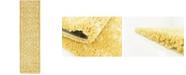 """Bridgeport Home Fazil Shag Faz1 Yellow 2' 7"""" x 10' Runner Area Rug"""