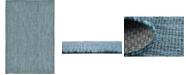 Bridgeport Home Pashio Pas6 Teal 4' x 6' Area Rug