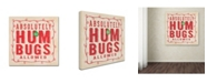 "Trademark Global Stephanie Marrott 'Hum Bugs' Canvas Art - 18"" x 18"""