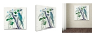 "Trademark Global Wyanne 'After Rain' Canvas Art - 18"" x 18"""