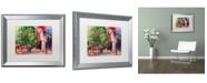 """Trademark Global Richard Wallich 'Jaden' Matted Framed Art - 16"""" x 20"""""""