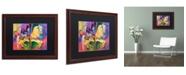 """Trademark Global Richard Wallich 'Artcar 2' Matted Framed Art - 16"""" x 20"""""""