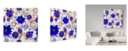 "Trademark Global Maria Rytova 'Christmas Bright Composition 3' Canvas Art - 18"" x 18"""
