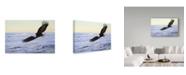 "Trademark Global Ron Parker 'Ocean Dawn Eagle' Canvas Art - 16"" x 24"""