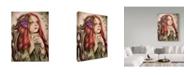 "Trademark Global Sheena Pike Art And Illustration 'Ivy' Canvas Art - 18"" x 24"""