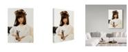 "Trademark Global Sharon Forbes 'Angel Face' Canvas Art - 18"" x 24"""