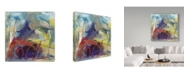 "Trademark Global Shana Dominguez 'Banding Together' Canvas Art - 18"" x 18"""