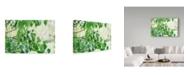 "Trademark Global Incredi 'When Summer Starts' Canvas Art - 24"" x 16"""