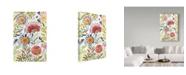 "Trademark Global Irina Trzaskos Studio 'Wildflowers 3' Canvas Art - 12"" x 19"""