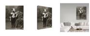 "Trademark Global J Hovenstine Studios 'Jack' Canvas Art - 14"" x 19"""