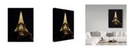 "Trademark Global Jessica Putnam 'Eiffel Tower Up Close' Canvas Art - 24"" x 32"""