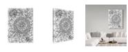 "Trademark Global Jessica Putnam 'Floral Patterns 4' Canvas Art - 14"" x 19"""