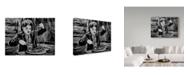 "Trademark Global Howie Green 'Charlie Chaplin Portrait' Canvas Art - 24"" x 18"""