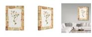 "Trademark Global Hope Street Designs 'Rustic Flowers' Canvas Art - 14"" x 19"""