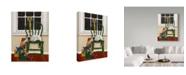 "Trademark Global Jan Panico 'All Is Calm' Canvas Art - 14"" x 19"""
