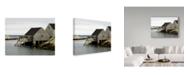 "Trademark Global J.D. Mcfarlan 'Peggys Cove, Ns' Canvas Art - 24"" x 18"""