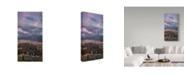 "Trademark Global Jason Matias 'NYC Vertorama' Canvas Art - 12"" x 24"""