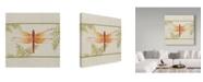 "Trademark Global Jean Plout 'Dragonfly Wonder 1' Canvas Art - 14"" x 14"""
