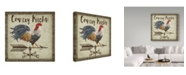 """Trademark Global Jean Plout 'Rustic Rooster Vane 3' Canvas Art - 24"""" x 24"""""""