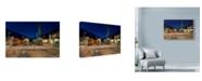 "Trademark Global Les Ray 'The Night Crew' Canvas Art - 24"" x 16"""