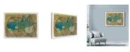 "Trademark Global Maria Pietri Lalor 'Cricket On Wheels' Canvas Art - 24"" x 18"""