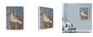 "Trademark Global Maria Pietri Lalor 'A Yellow Dove' Canvas Art - 18"" x 24"""