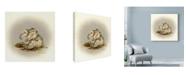"Trademark Global Peggy Harris 'Patty Cake' Canvas Art - 18"" x 18"""