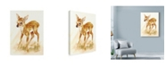 "Trademark Global Peggy Harris 'Fawn' Canvas Art - 18"" x 24"""