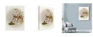 "Trademark Global Peggy Harris 'Kiss Me' Canvas Art - 14"" x 19"""