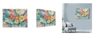 """Trademark Global Marietta Cohen Art And Design 'Spring Is Here Floral' Canvas Art - 19"""" x 14"""""""