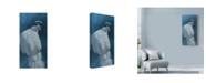 "Trademark Global Michael Jackson 'White Peahen' Canvas Art - 10"" x 19"""