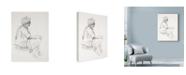 "Trademark Global Michael Jackson 'Eastern Man Sketch' Canvas Art - 24"" x 32"""