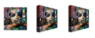 "Trademark Global 'On Broadway' Canvas Art - 18"" x 18"""