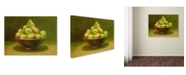 """Trademark Global Rio 'Still Life with Pears' Canvas Art - 19"""" x 14"""""""