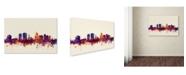 """Trademark Global Michael Tompsett 'Christchurch NZ Skyline' Canvas Art - 30"""" x 47"""""""