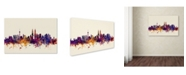 "Trademark Global Michael Tompsett 'Kuala Lumpur Malaysia Skyline' Canvas Art - 30"" x 47"""