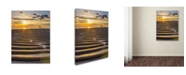 "Trademark Global PIPA Fine Art 'Sandbars' Canvas Art - 35"" x 47"""
